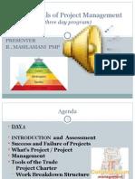 Project Management Slides(1 3day Program)