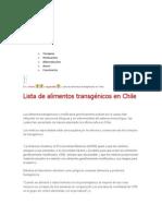 Lista Alimentos Transgenicos Chile[1]