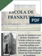 Apresentação Escola de Frankfurt