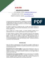 ANALISIS DE CLORUROS