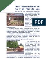 SEMANA INTERNACIONAL DE LA HUERTA Y DEL MAR