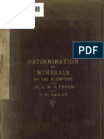 Fuchs-Practical Guide to the Determination of Minerals by the Blowpipe 1868
