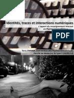 Identités, traces et interactions numériques - L'apport du renseignement Internet en Pyscho-criminalistique