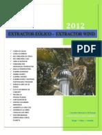 EXTRACTOR EÓLICO DATOS TÉCNICOS FEB 2012