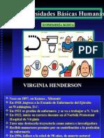 necesidades básicas - henderson
