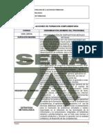 Diseño de programa PDM_