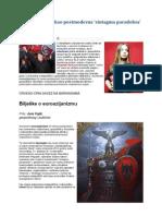 Euroazijanizam Kao Postmoderna 'Sintagma paradoksa'