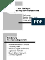 Leon Festinger Theorie der kognitiven Dissonanz