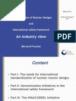 Standardization of Reactor Designs and International Safety Framework