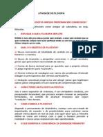 ATIVIDADE DE FILOSOFIA - 2