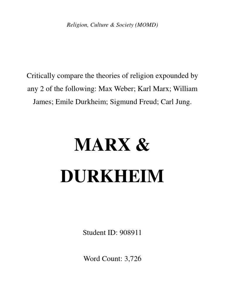 weber and durkheims theories about the Durkheim's theory of social class  though durkheim was a contemporary of weber,  durkheim distrusted mass democracy and worried about increasingly.