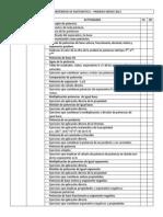 red de contenidos de matematica 1er año medio 2012