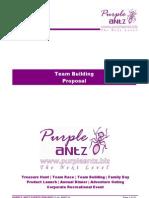 Team Building Proposal - Purple Antz Events v5.3