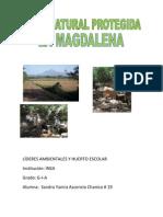 Proyecto La Magdalena Por Sandra Ascencio G-I-A