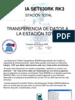 Transfer en CIA de Datos a La Estaci%d3n Total