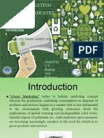 Green Marketing in Modern Industry