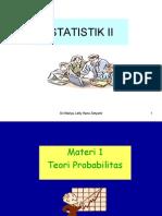 STATISTIK EKONOMI II