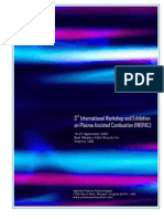 3rd International Workshop and Exhibition on Plasma Assisted Combustion (IWEPAC)