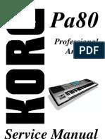 KORG Pa80