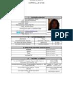 Curriculum Alejandra Meza 2012