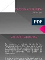 VALORACIÓN ADUANERA /// CYLOGISTICA.COM