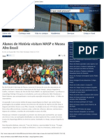 Alunos de História visitam MASP e Museu Afro Brasil › Unasp Engenheiro Coelho