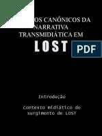 Aspectos Canônicos da Narrativa Transmidiática em LOST
