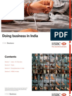 HSBC Doing Business in India