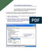 Aplicacion de Firmware Con Market G-7