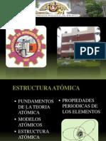 El Atomo y La Estructura Atomica
