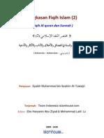 10. Fiqh Al-Qur'an Dan Sunnah Ttg Fadilah Amal Dan Akhlak, Adab Dan Dzikir