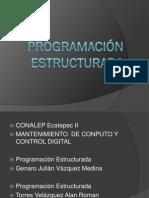 Programación estructurada