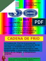 Expo Sic Ion de Cadena de Frio Cerropon