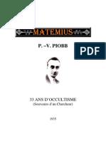 PIOBB-33 Ans d'Occultisme