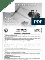 896 Técnico Judiciário (segurança e transporte) 2005 TRTDF CESPE