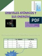 Orbitales atómicos y sus energías