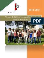 Plataforma de Punche PUCP a la REA 2012 - 2013