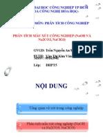 2.Phân tích mẫu xút công nghiệp (NaOH và Na2CO3, NaClO3)