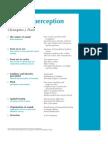 PIP Auditory Perception