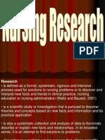 Nursing Research Power Point