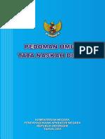 Permenpan_22_2008 - Pedoman Umum TND