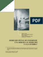 Derecho Penal de Enemigos.