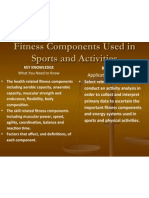 chapter 7 fitness components and definitions