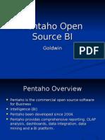 Pentaho Open Source Bi