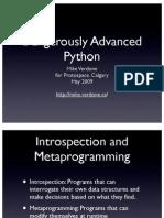 A Python Book Beginning Python, Advanced Python, And | Class