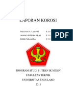 Laporan Korosi _meltom, Ahmad, Riski Paramita