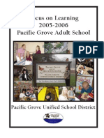 Pacific Grove AE Accreditation WASC PGAE 2006[1]