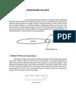 Aerodynamic Balance & Flight Control Balancing and Rigging