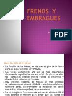 FRENOS Y EMBRAGUES