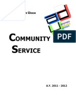 Community Service Bid 1112
